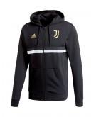 adidas Veste à Capuche Juventus 3-Stripes Full-Zip
