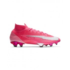Nike Mercurial Superfly 7 Elite Mbappé Rosa Firm Ground