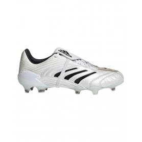 adidas Predator Absolute 20 Firm Ground Cleats - White & Black | Evangelista Sports