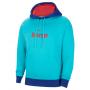 Nike Barcelona Sweatshirt À Capuche - Bleu Clair