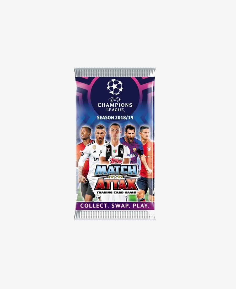 Match Attax Cards 2018/19