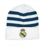 adidas Real Madrid 3 Bandes Tuque - Blanc et Sarcelle