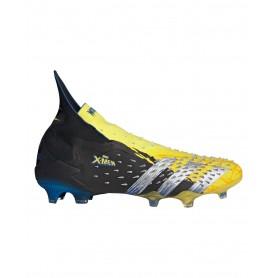 adidas Predator Freak+ Wolverine Firm Ground Cleats - Yellow, Black & Blue   Evangelista Sports