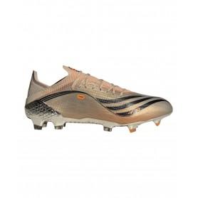 adidas X Messi Speedflow.1 Chaussures Terrain Souple - Or et Noir | Evangelista Sports