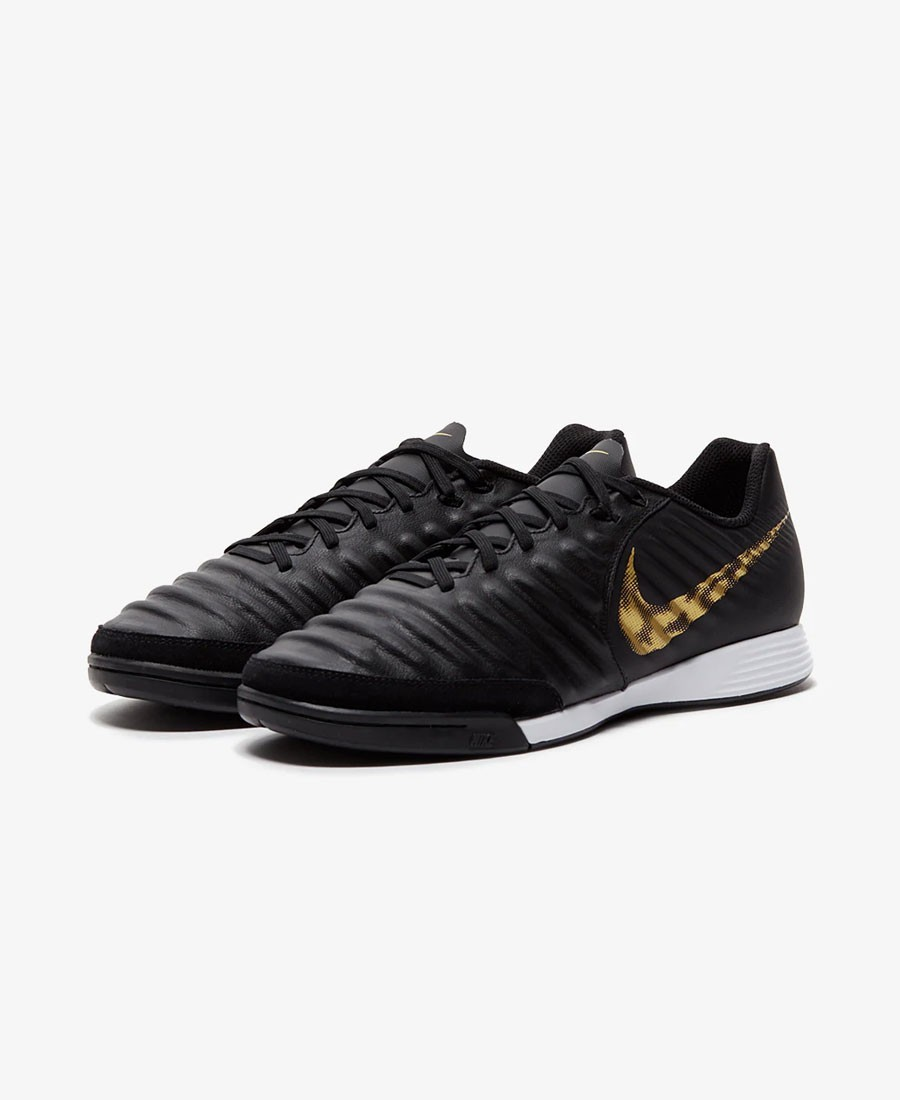 95e698505c The Nike TiempoX Legend VII Academy Indoor Court Football Shoe features  lightweight foam cushioning and a calf leather construction for a  comfortable fit ...