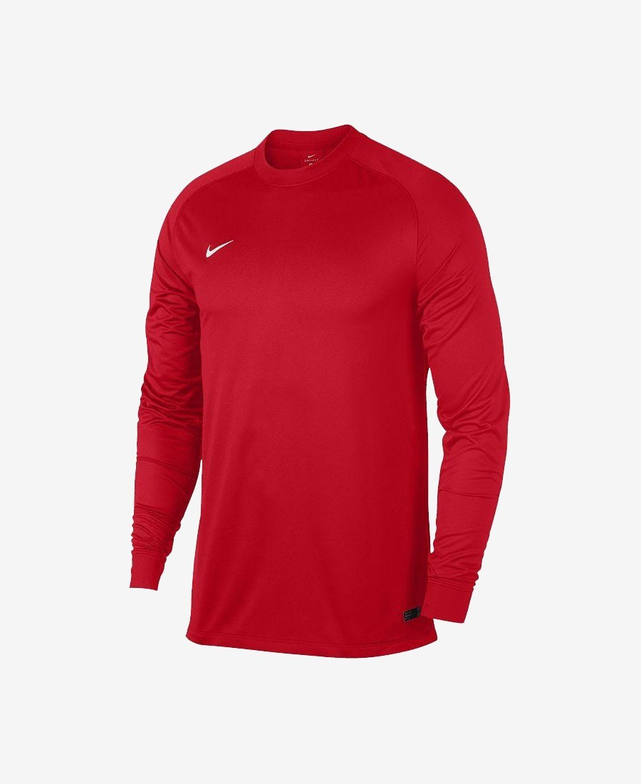 a402eb7403b Our Nike LS Park Goalie II Jersey is crafted for the goal box with  lightweight