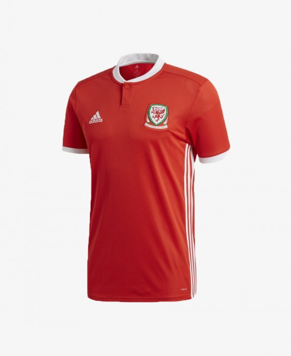 adidas Wales Home Jersey 2018