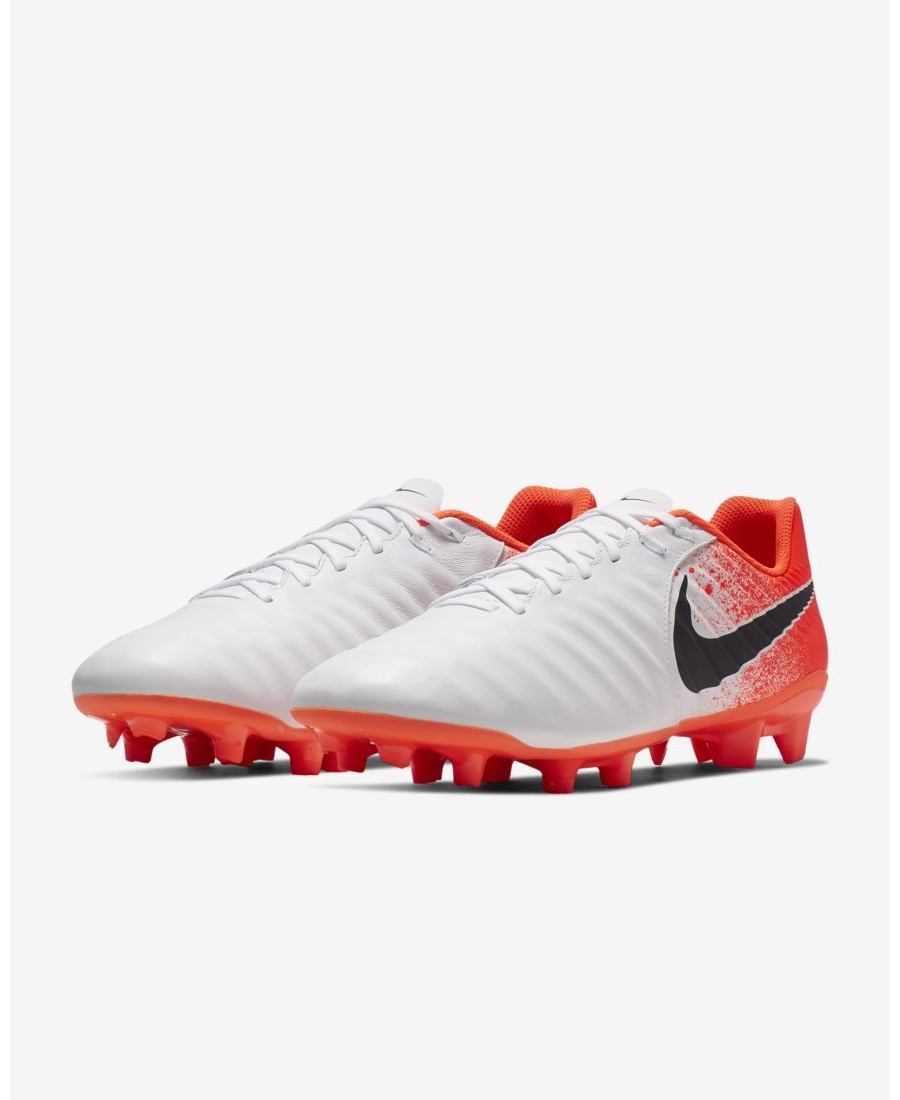 6103f98b2f7 The Nike Tiempo Legend VII Academy Firm-Ground Football Boot features a  soft sockliner for low-profile cushioning and calf leather for a  comfortable fit and ...