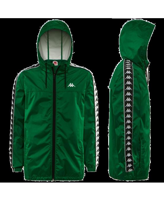 Kappa Rain Jacket Green