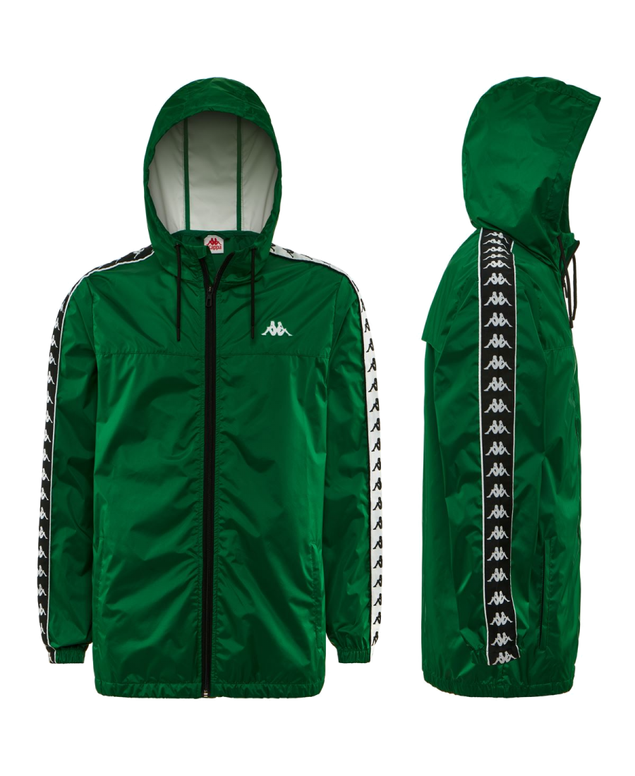 Kappa Rain Jacket Green