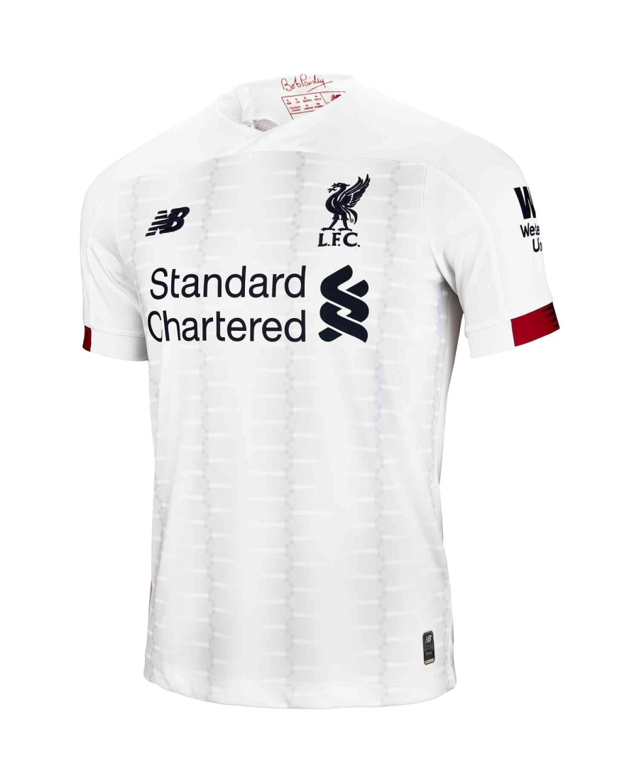 official photos 6f70e ab8b4 New Balance Liverpool FC Away SS Jersey No EPL Patch 2019/20