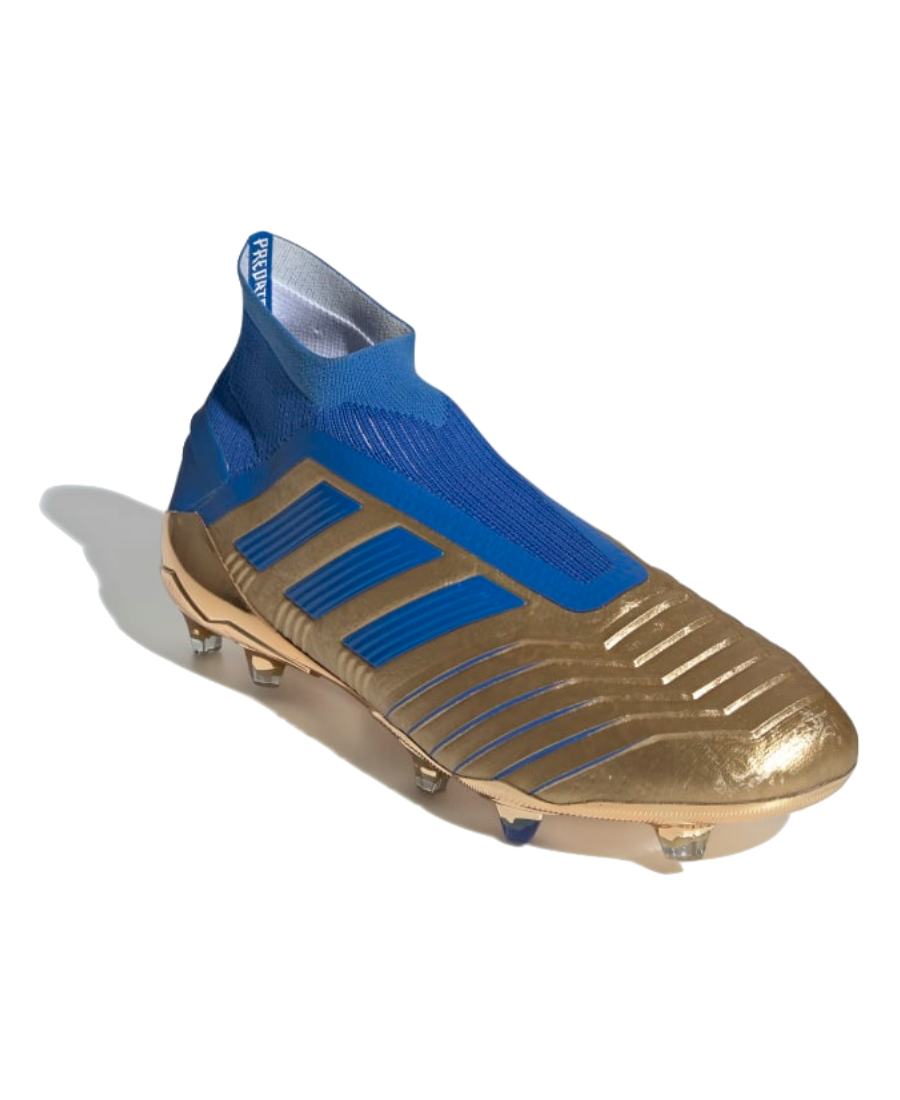 adidas Predator 19+ Firm Ground Cleats - Gold - Soccer Cleats
