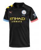 Puma Manchester City Short Sleeve Kids' Away Replica Jersey