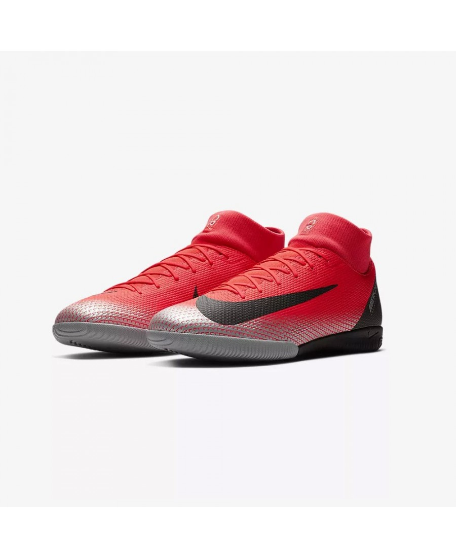 wholesale dealer adc76 e2e37 Nike MercurialX Superfly VI Academy CR7 IC| Evangelista Sports